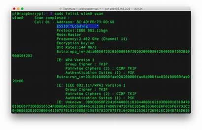 Wifi Pi Raspberry Command Connect Via Line