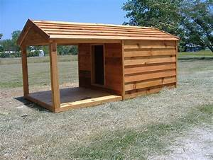 Diy dog house for beginner ideas for Large dog house with porch