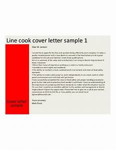 basic line cook cover letter samples and templates With cover letter for a cook position