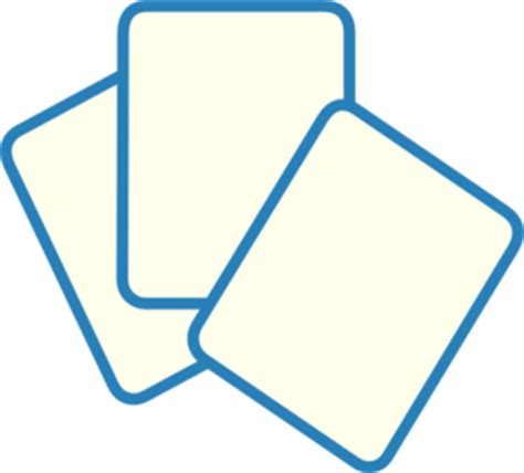 individual playing cards clipart   cliparts