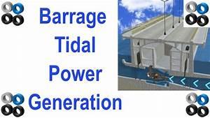 How Barrage Tidal Power Station Works