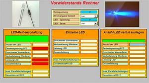 Led Vorwiederstand Berechnen : excel vorwiderstand f r led berechnen und bestimmen ~ Themetempest.com Abrechnung