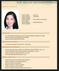 best resume format 2015 philippines holiday resume sle templates for fresh graduate philippines resumes design