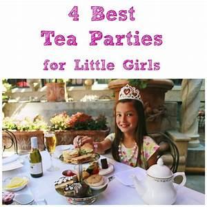 4 Best Tea Parties For Little Girls