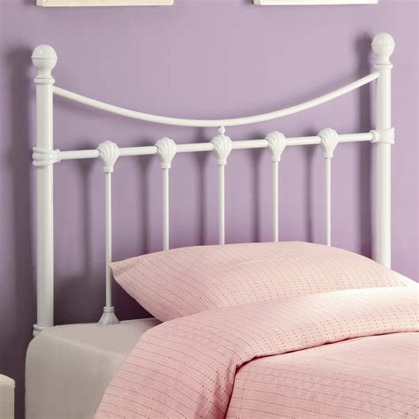 Coaster Youth Beds 450101t Twin White Metal Headboard