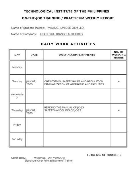 Internship Journal Sample Obstacles In Life Essay Internship Journal