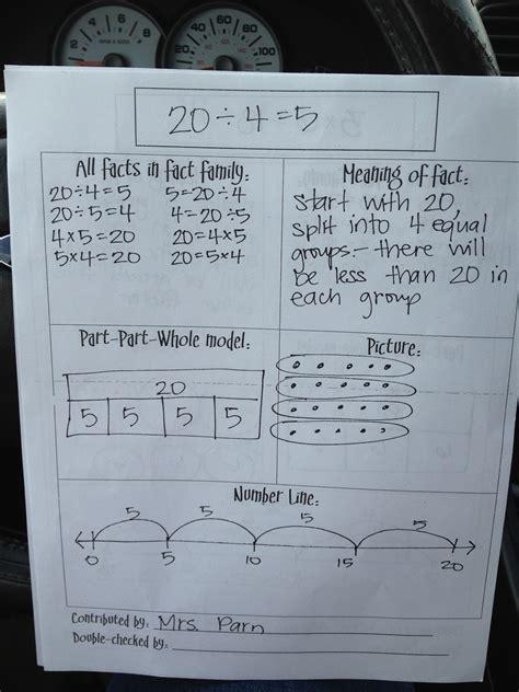 teacher chicks amazing math facts idea  learned