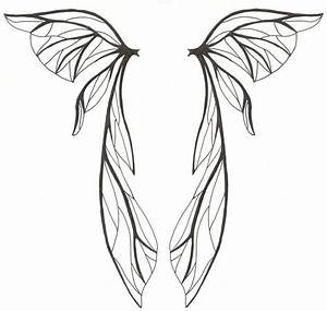 Wing With Broken Heart Clip Art | tribal wing tatoo wing ...
