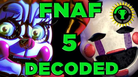 Game Theory Fnaf Game Theory Fnaf Sister Location Decoded Fnaf 5 Youtube