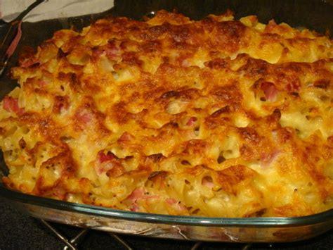gratin des pates au bechamel gratin de pates au bleu et jambon blanc la cuisine 224 sassenay