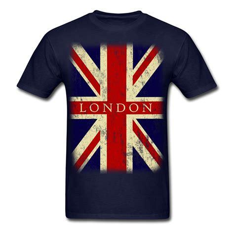 2017 new fashion vintage uk flag s t shirt 100