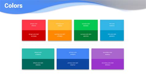 bootstrap colors examples tutorial basic