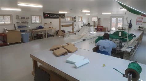 Boat Upholstery Shop by Arey S Pond Boat Yard Expands Its Services Now Offers An