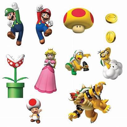 Mario Super Printable Stickers Eclark Clipart Clipartbest