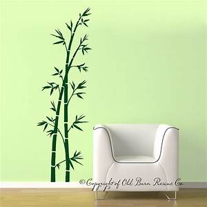 Bamboo wall decal large vinyl wall decals by for Bamboo wall decal