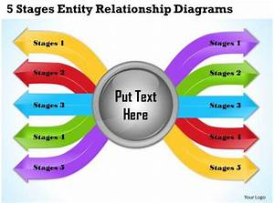 1013 Business Ppt Diagram 5 Stages Entity Relationship