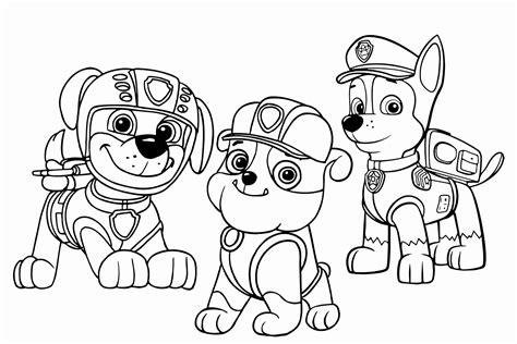 disegni da colorare paw patrol disegni da colorare paw patrol lusso disegni da colorare