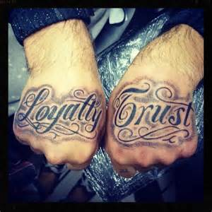 Trust and Loyalty Tattoos
