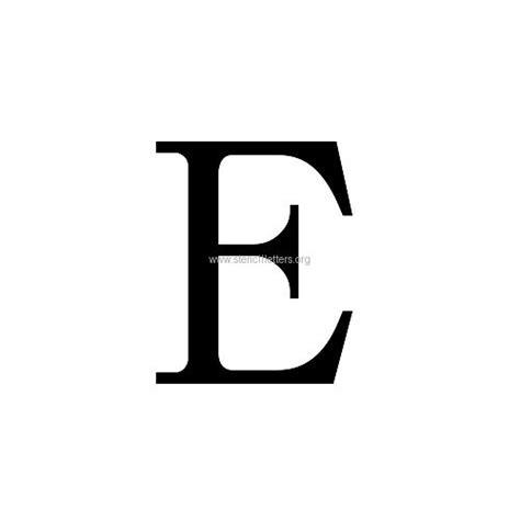 caslon small letter stencils