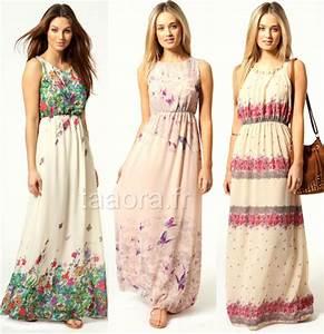 Robe Longue Style Boheme : 3 robes longues hippie chic moins de 40 euros taaora ~ Dallasstarsshop.com Idées de Décoration