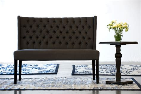 Entrance Bench by Fabric Entrance Bench Indoor Benches Vancouver By Lh