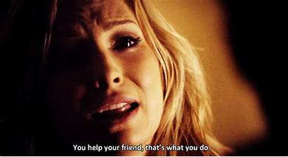Caroline Forbes Elena Vampire Diaries Tvd Gifs