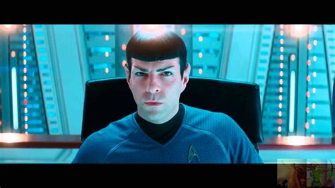 star trek  darkness spock talks  spock prime