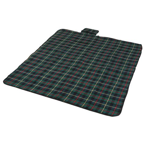 Folding Picnic Blanket Rug Mat With Waterproof Backing
