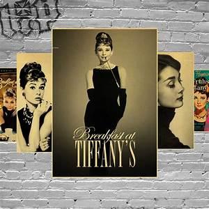 Audrey Hepburn Poster : audrey hepburn vintage poster posters adornment wall stickers retro kraft paper adornment movie ~ Eleganceandgraceweddings.com Haus und Dekorationen