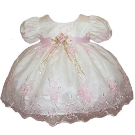 amazoncom baby girl easter dresses pink embroidery