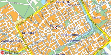 Plattegrond Heemskerk en Regio