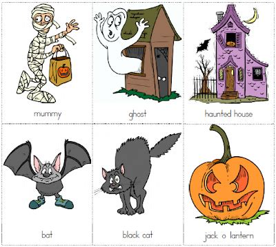 A Little Brit Of Us Halloween Flashcards