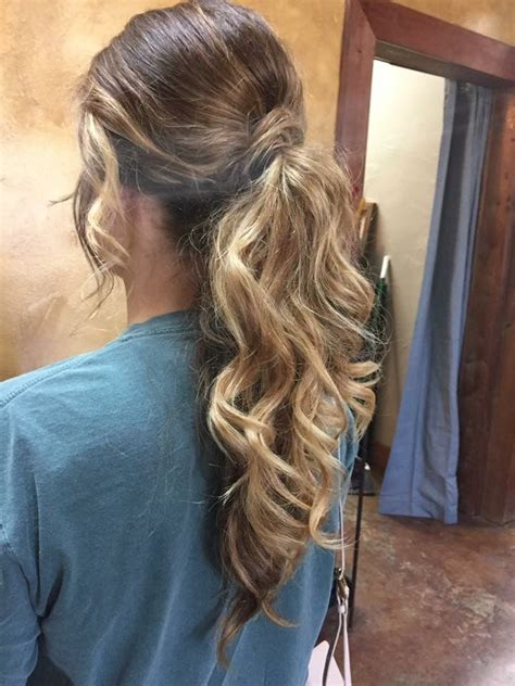 curly ponytail prom hairstyles the 25 best curly ponytail ideas on pinterest curly