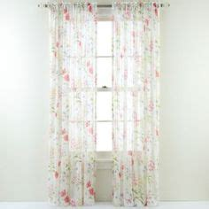 jcpenney home lara rod pocket sheer panel found at