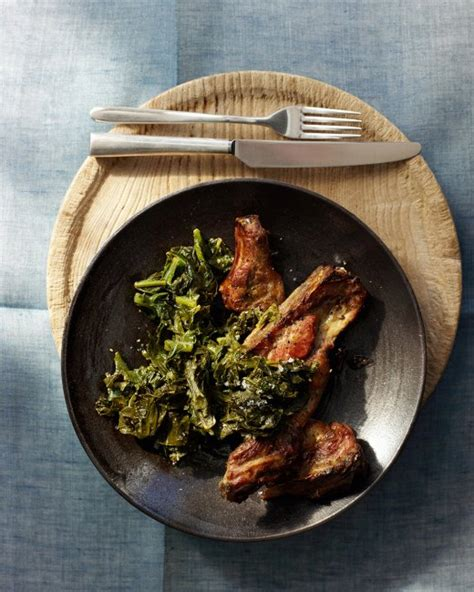 Garlicky Pork Ribs With Greens, Recipe From Everyday Food