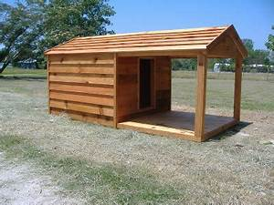 plan niche chien 10 niches pour chien a construire soi meme With large custom dog houses