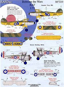 Rafdec Decals Between The Wars Aircraft And Westland