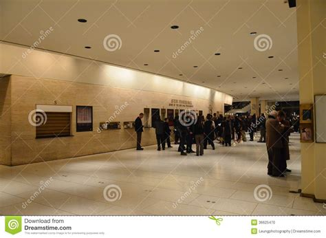Lobby Of Avery Fisher Hall Editorial Image. Image Of