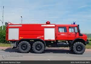 6X6 Unimog Fire Truck
