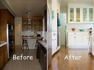 before and after kitchen makeover home kitchen before