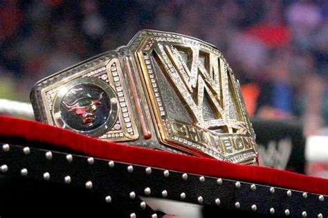 wwe championship belt ugly  awesome bleacher