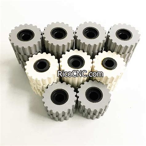 rubber pressure roller wheels  edgebanders edge banding machine