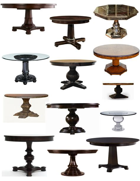 types of table bases on a pedestal the elegance of the pedestal table house