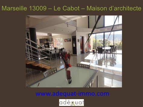 marseille 13009 le cabot maison d architecte