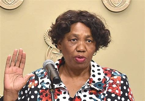 Angie motshekga is a 64 year old south african politician born on 19th june, 1955 in pimville, soweto near johannesburg. Angie Motshekga sworn-in as South Africa's Acting President photo