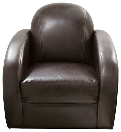 stetson low profile swivel chair in mocca modern armchairs