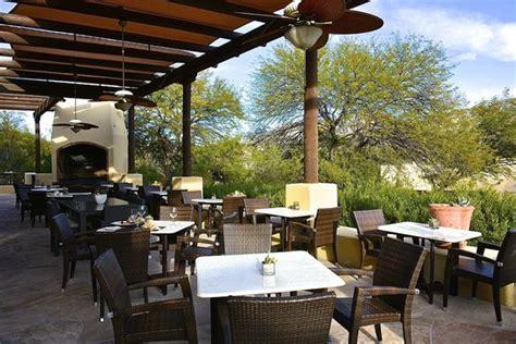 the restaurant patio picture of miraval arizona resort