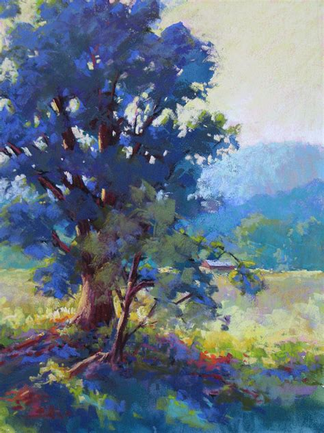 blue dogwood painting  marsha savage