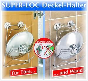 Schrank An Wand Befestigen Ohne Bohren : topf deckel halter wand o schrank o bohren super loc ebay ~ Markanthonyermac.com Haus und Dekorationen