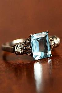 Diamond Designs 27 Aquamarine Engagement Rings For Romantic Girls Oh So